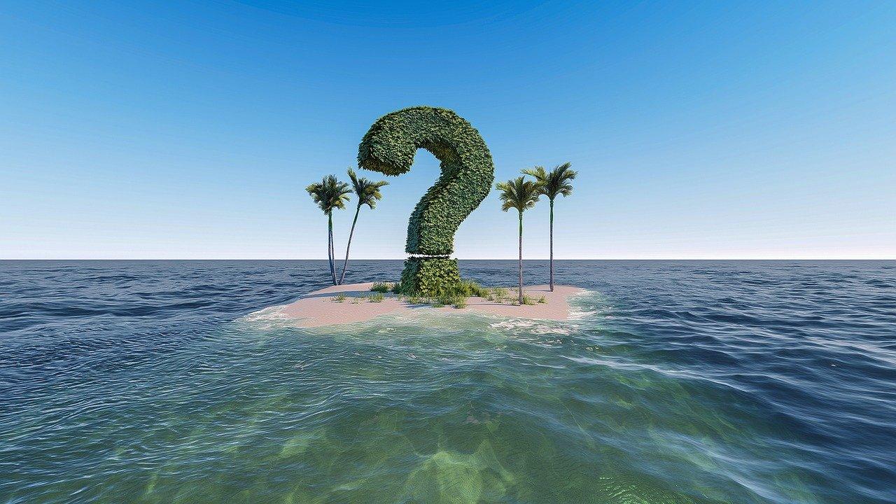 вопрос остров